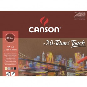 Blocco pastello Touch - 24 x 32 cm - 350 g/mq - 20 fogli