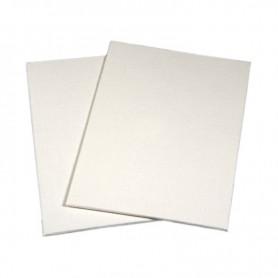 Cartone telato Standard 25x30 - tela risvoltata sul bordo