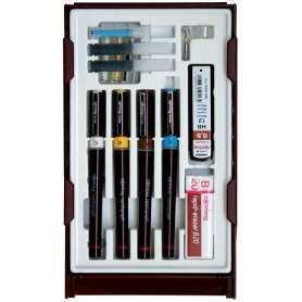 Set di penne a china radiograph Rotring Set College