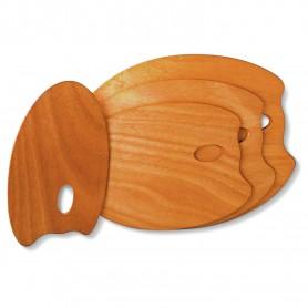 Tavolozza di legno (ovale) Mabef M/O 25x35