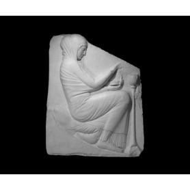 Vestale che brucia incenso - Rilievo - 111a