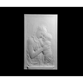 Madonna con bambino - Bassorilievo - 118c